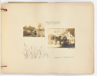 [Scrapbook and photo album]: New Haven, possibly kept by a Yale Student, 1906