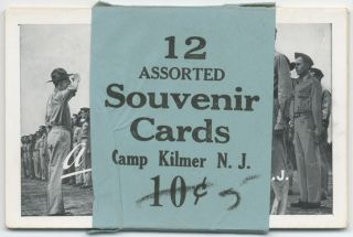 Camp Kilmer Postcards