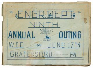 [Zine]: Eng'r. Dep't Ninth Annual Outing Wed June 17, '14 Gratersford, PA