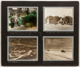 """[Loose Photo Pages]: """"Winter Trip in the Packard Eight"""""""