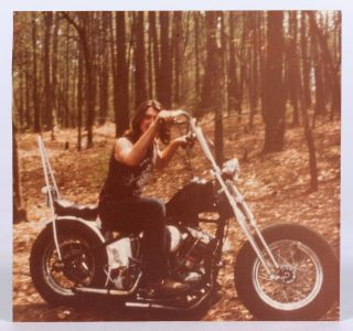 Collection of Photos of the Renegade Biker Club, including a Small Concert by David Allan Coe