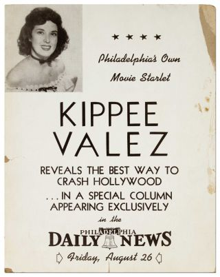 (Broadside): Philadelphia's Own Movie Starlet Kippee Valez Reveals the Best Way to Crash Hollywood