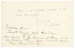 Autograph Letter Signed from a Reverend teaching at Eton College during World War I