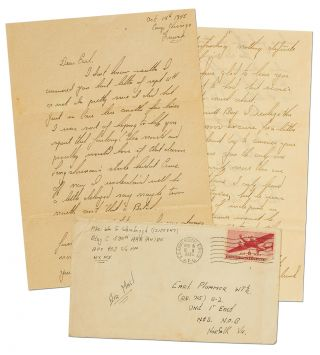 A Sexually Charged Autograph Letter Signed from an Army Soldier to a Wounded Soldier at the End of World War II