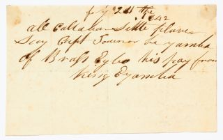 An Archive of Autograph Letters Signed from Old Calabar: written by King Eyo Honesty II of Creek Town, and King Eyamba V of Duke Town, 1842-45
