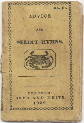 Advice and Select Hymns, for the Instruction of Little Children. Seventh Series. No. 10
