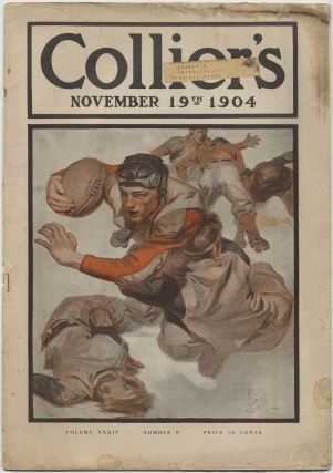 Collier's - November 19, 1904. Francis Xavier LEYENDECKER, Walter Camp, Andre Castaigne