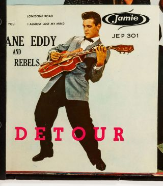 Promotional Booklet for Jamie and Mardi-Gras Records. Circa 1960