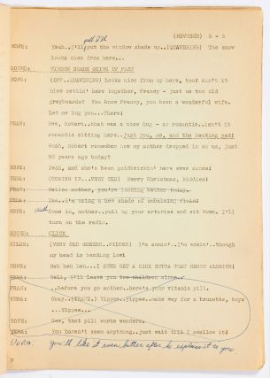 "[Two Radio Scripts]: The Special Service Division of the War Department Presents ""Bob Hope Show #8"" [and] ""Bob Hope Show #9"""