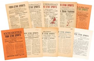 Newspaper]: Four-Star Sports Coast-to-Coast. Vol. 1, No. 1 - Vol. 3, No. 11 (lacking No. 10