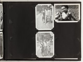 """[Photo Album]: """"Photographs of Persons and Places that Record Memories of Friendships and Experiences"""""""