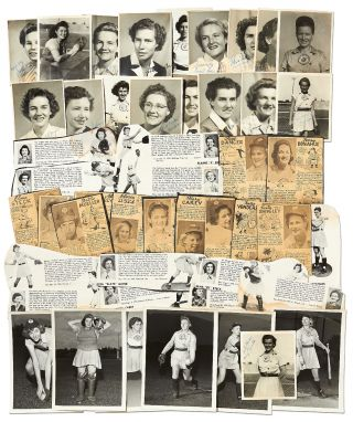 Photos and Ephemera Related to the Peoria Redwings of the All-American Girls Baseball League