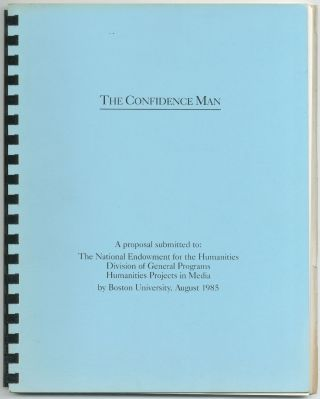 [Screenplay]: The Confidence Man [with] Proposal