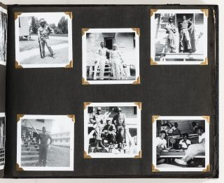 [Photo Albums]: Two African-American Family Photo Albums of Events, Travels, and the Vietnam War
