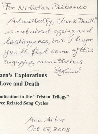 """Messiaen's Explorations of Love and Death: Musico-poetic Signification in the """"Tristan Trilogy"""" and Three Related Song Cycles (Dimension & Diversity: Studies in 20th-Century Music No. 9)"""
