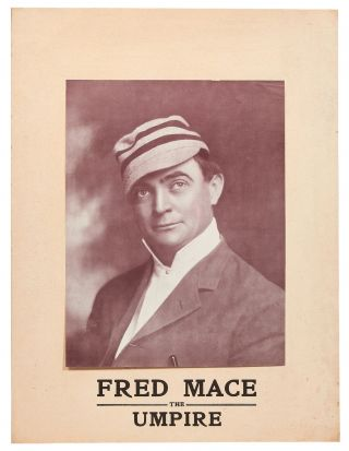 Silent film poster]: Fred Mace: The Umpire