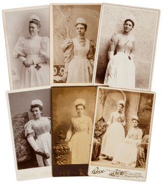 Loose Photographs]: Massachusetts Nurses Cabinet Cards