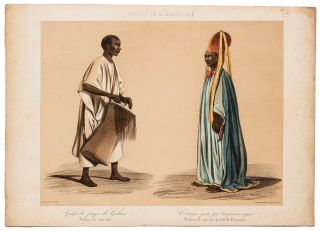 A Collection of 22 Hand-Colored Illustrations on 11 Lithographic Plates from Raffenel's *Voyage dans l'Afrique occidentale comprenant l'exploration du Senegal* [Travels in West Africa, Including the Exploration of Senegal, 1843 and 1844.]