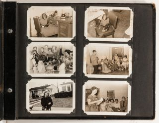 (Photo Album): World War II Soldier's Aviation Album