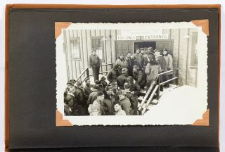 Four WWII Photo Albums of Goose Bay Air Force Base, Labrador