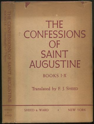 The Confessions of Saint Augustine: Books I-X