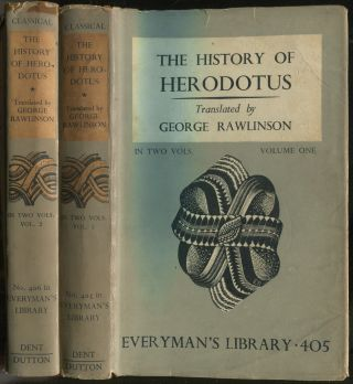 The History of Herodotus: [In Two Volumes]