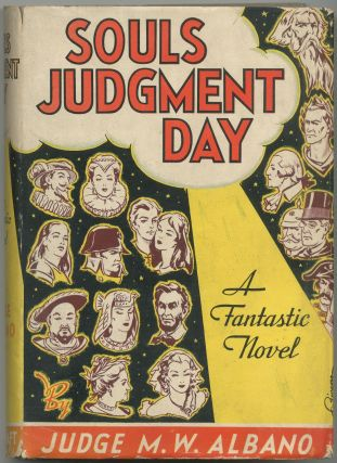 Souls Judgment Day: A Fantastic Novel. Judge M. W. ALBANO