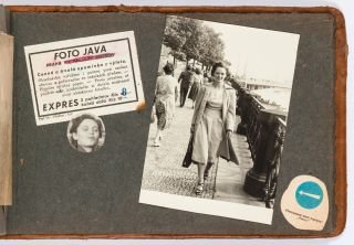 [Photo Album]: Young Woman in Prague Late 1940s