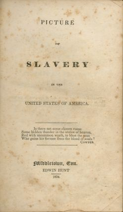 Picture of Slavery in the United States of America