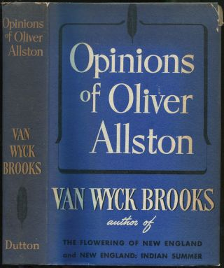 Opinions of Oliver Allston