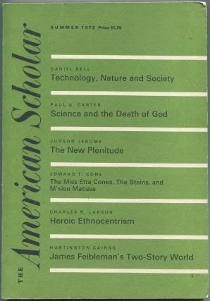 The American Scholar: Summer, 1973, Volume 42, Number 3