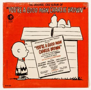 "Vinyl Record: ""The Original Cast Album of ""You're a Good Man, Charlie Brown"""