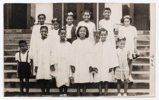 [Loose Photographs]: African-American Catholic School