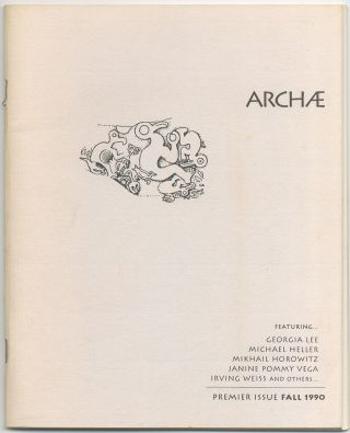 Archae. Premier Issue. Fall 1990