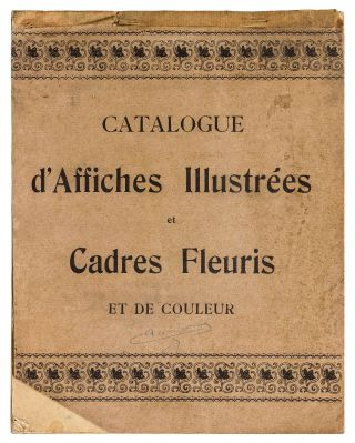 Art Nouveau Printer's Sample Catalogue of Poster Designs]: Catalogue d'Affiches Illustrées...