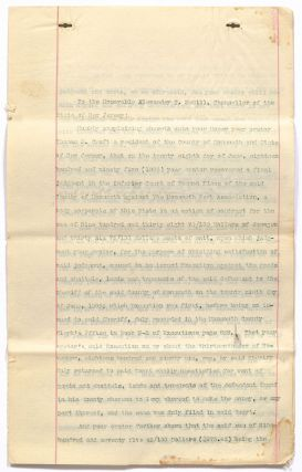 [Archive]: Monmouth Park Racetrack Taxation Trial Letters