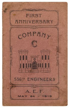 Cover title]: First Anniversary. Company C. 536th Engineers. A.E.F. May 24 - 1919