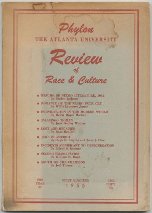 Phylon: The Atlanta University Review of Race & Culture