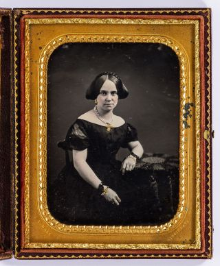 Half Plate Daguerreotype by James Presley Ball, one of only a few African-American...