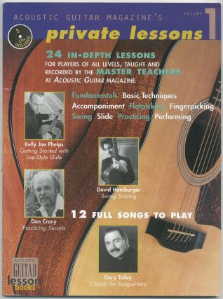 Acoustic Guitar Magazine's Private Lessons: Volume 1