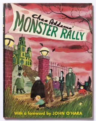Monster Rally. Chas ADDAMS