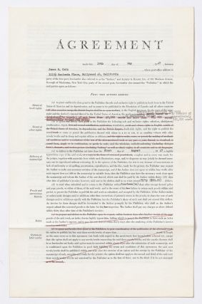 Archive of Book and Film Contracts