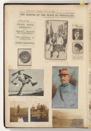 [Scrapbook]: Royal Military College and Seaforth Highlanders during World War I