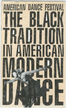 American Dance Festival 1988. The Black Tradition in American Modern Dance