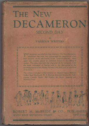 The New Decameron. Volume the Second, Containing the Second Day. Writers, Dorothy L. Sayers