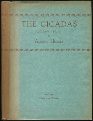 The Cicadas and Other Poems. Aldous HUXLEY