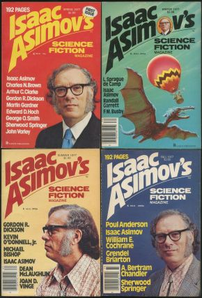 Asimov's Science Fiction Magazine #1-4