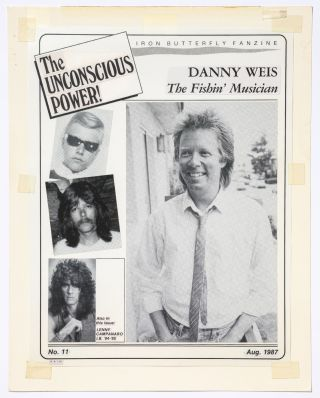 """[Archive]: Iron Butterfly Fanzine """"The Unconcious Power!"""" Maquettes"""