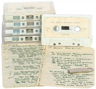 The James Baldwin Tapes: Original Cassette Recordings of Alex Haley Interviewing James Baldwin...