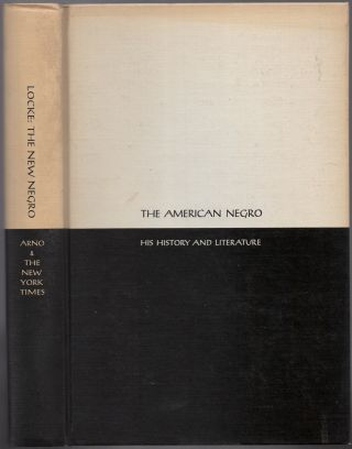 The New Negro: An Interpretation. Alain LOCKE